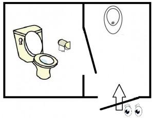 -2トイレ見取り図