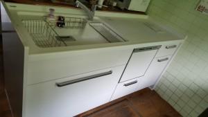 新しいキッチン配管接続完了